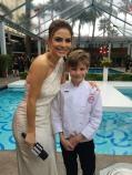 E! Oscars pre red carpet w Maria Menounos