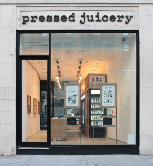 MMS only, Full Take: Pressed Juicery NYC Store Interiors